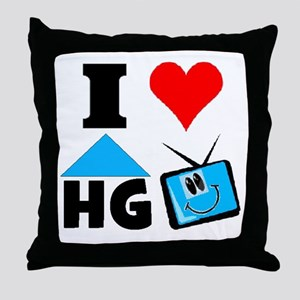 I Love HGTV Throw Pillow