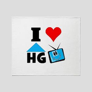 I Love HGTV Throw Blanket