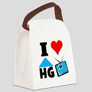 I Love HGTV Canvas Lunch Bag
