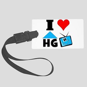 I Love HGTV Luggage Tag