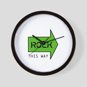 ROCK THIS WAY Wall Clock