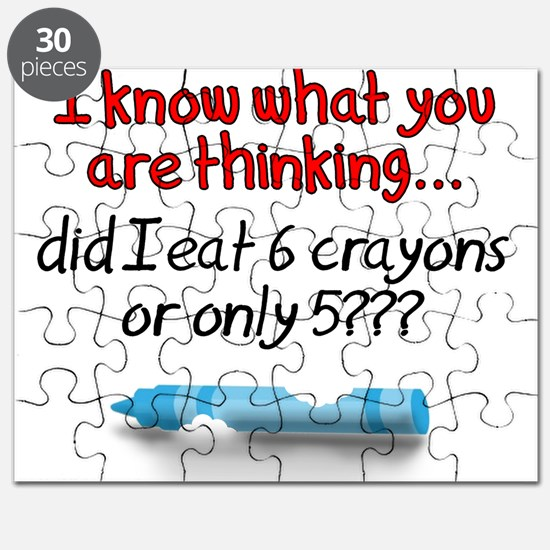 6 Crayons or 5? Puzzle