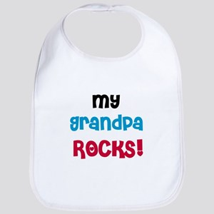 My Grandpa Rocks Bib