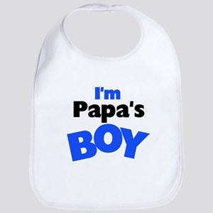 I'm Papa's Boy Bib