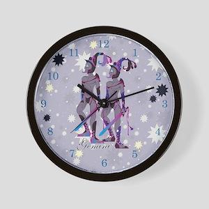 Starlight Gemini Wall Clock