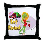 Lot Lizard 2013 Throw Pillow