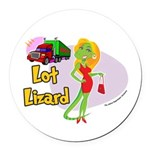 Lot Lizard 2013 Round Car Magnet