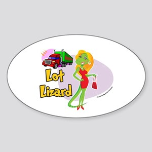 Lot Lizard 2013 Sticker (Oval)