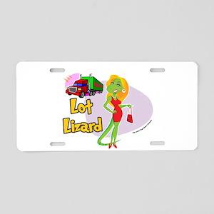 Lot Lizard 2013 Aluminum License Plate
