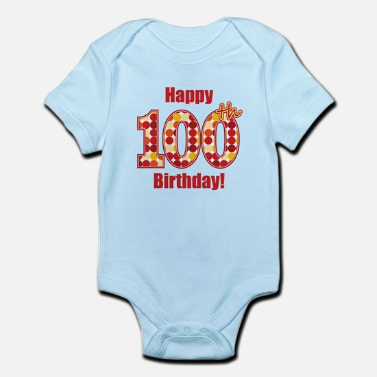Happy 100th Birthday! Body Suit