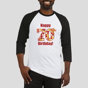 Happy 70th Birthday! Baseball Jersey