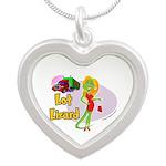 Lot Lizard 2013 Silver Heart Necklace