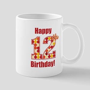 Happy 12th Birthday! Mug