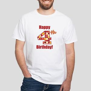 Happy 4th Birthday! T-Shirt