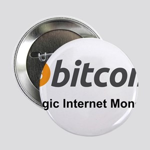 "Bitcoin: Magic Internet Money! 2.25"" Button"