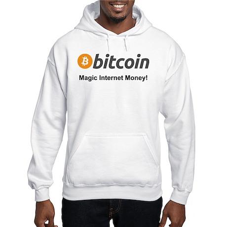 834901137 Sweatshirt CafePress Bitcoin Magic Internet Money