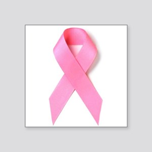 Breast Cancer Awareness Rectangle Sticker