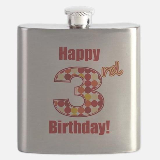 Happy 3rd Birthday! Flask