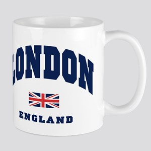London England Union Jack Mug