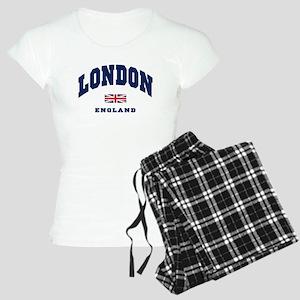London England Union Jack Pajamas