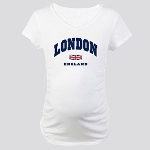 London England Union Jack Maternity T-Shirt