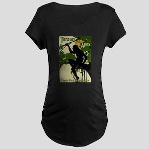 Tarzan of the Apes 1914 Maternity T-Shirt