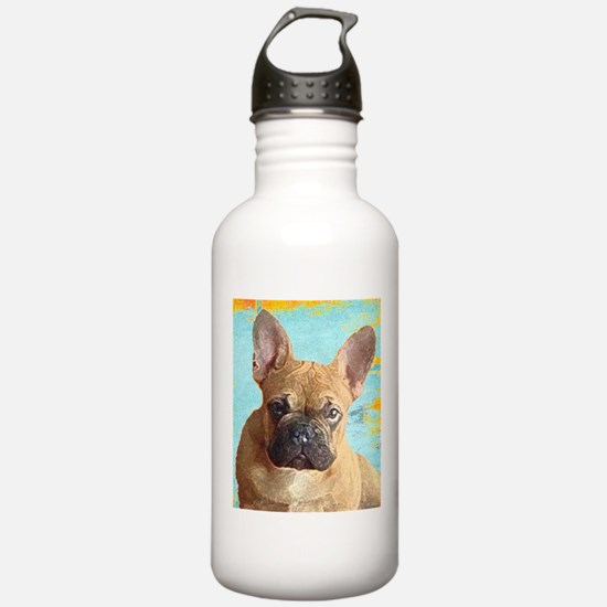Adorable French Bull Dog Water Bottle