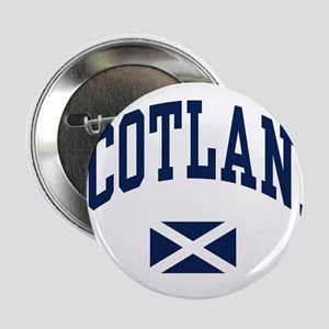 "Scotland with Saltire flag 2.25"" Button"