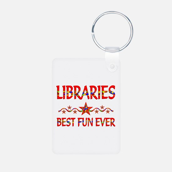 Libraries Best Fun Keychains
