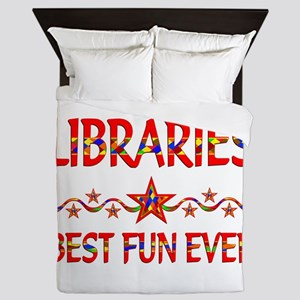 Libraries Best Fun Queen Duvet