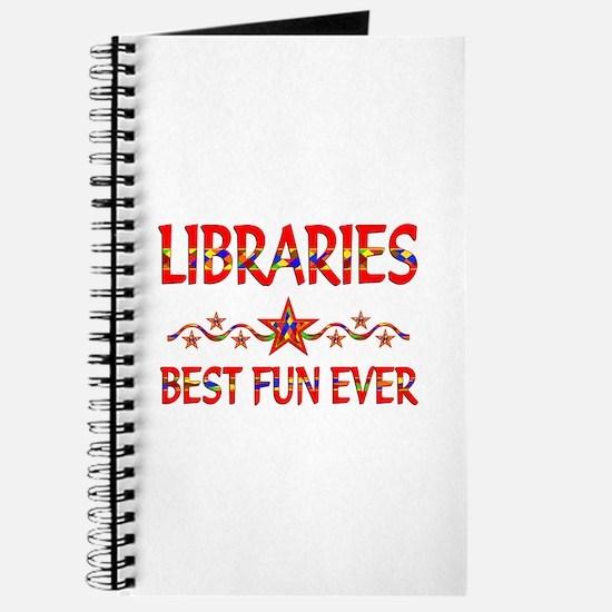 Libraries Best Fun Journal