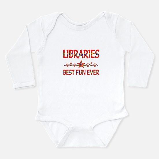 Libraries Best Fun Long Sleeve Infant Bodysuit