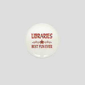 Libraries Best Fun Mini Button