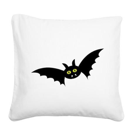 bat Square Canvas Pillow