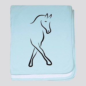 dressage baby blanket