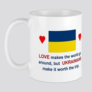 Love Ukrainians Mug