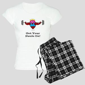 Gym Ham (Swole) Women's Light Pajamas