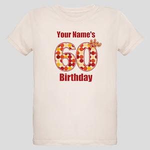 Happy 60th Birthday Organic Kids T Shirts