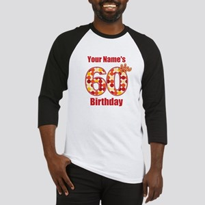 Happy 60th Birthday - Personalized! Baseball Jerse
