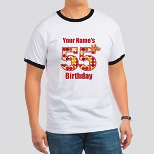 Happy 55th Birthday - Personalized! T-Shirt
