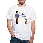 Human Vs. Dog White T-Shirt