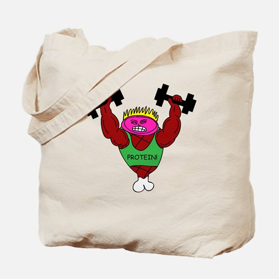 Weightlifter Ham Tote Bag