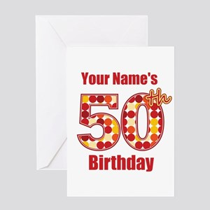 50 Years Old Greeting Cards