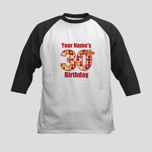 Happy 30th Birthday - Personalized! Baseball Jerse