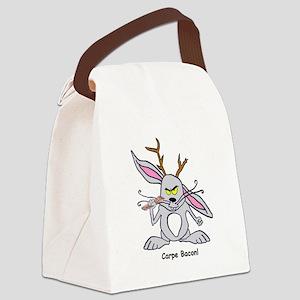B.T. Evilpants says Carpe Bacon! Canvas Lunch Bag