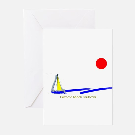 Hermosa Greeting Cards (Pk of 10)