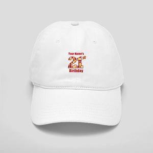 Happy 21st Birthday - Personalized! Baseball Cap
