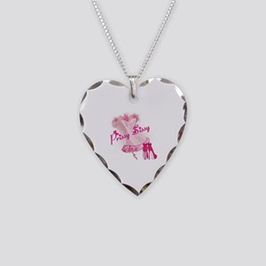 Prissy Sissy Corset Necklace Heart Charm