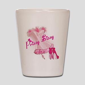Prissy Sissy Corset Shot Glass