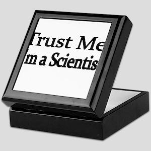 Trust Me. Im a Scientist Keepsake Box